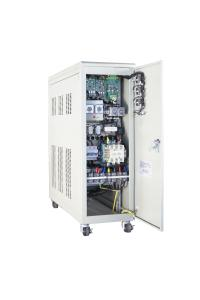 China 3 Phase Digital Servo Controlled Voltage Stabilizer , Compensated Automatic Voltage Stabilizer on sale
