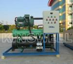 Large Brine Ice Block Making Machine , 5 Tons Commercial Hotel Ice Maker