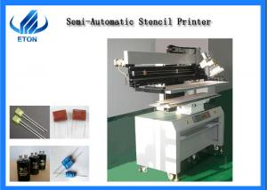 China Printing Precision ±0.05mm SMT Mounting Machine Semi Automatic Soldering Machine on sale