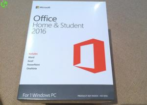 China Microsoft office 2016 product key card home and student on line activation key on sale