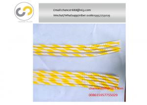 China Flexible bendable drinking paper  straw making machine, paper straw bending machine on sale