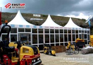 China Landscape Decoration Aluminium Frame Tent High Peak Roof UV - Resistant on sale