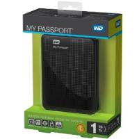 Western Digital My Passport 1 TB USB 3.0 Portable Hard Drive - WDBBEP0010BBK-NESN (Black)
