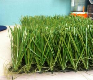China 50mm TenCate Thiolon Monofilament Football Artificial Grass , Lime Green on sale