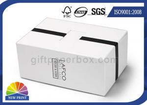 China Gift Set Packaging Chipboard Luxury Setup Boxes With CMYK Printing SGS Certificate on sale