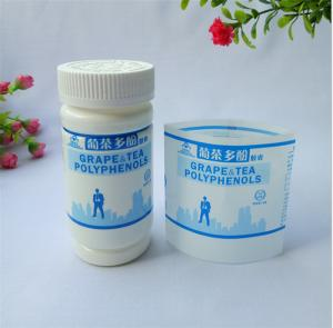 China Waterproof Shrink Film Labels , Custom Shrink Wrap Labels Every Size Available on sale