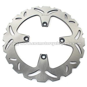China High Performance Motorcycle Brake Disc Heat Treatment Craft 256mm Outside Diameter on sale
