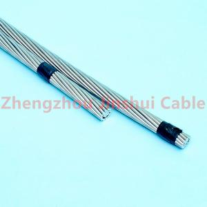 China Concentric Lay Stranded Acsr Moose Conductor , Hevy Weight Underground Electrical Wire on sale