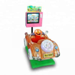 China LCD Screen Children'S Bumper Cars , Plastic / Fiberglass Ride On Bumper Car on sale