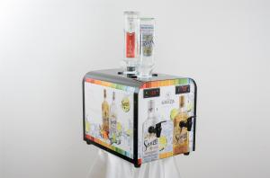 Quality High Efficiency Tequila Chiller Dispenser , Alcohol Shot Dispenser Machine for sale