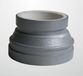 China Gi Polyethylene Lined Polypropylene Pipe Fittings Iron Pvc Concentric Reducer on sale