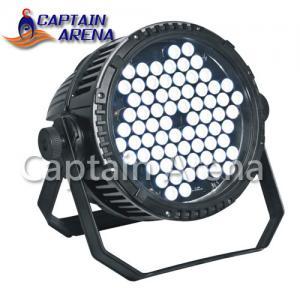 China RGBW Par LED Light/ LED Par Lighting72 x 3W Housing AC100 - 240V on sale