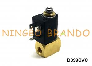China 1/4 Inch M&M Type D399CVC Solenoid Valve Brass 3/2 NC DC24V For Auto Feeding System on sale