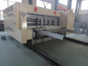 Quality Automated Feeding Flexo Printer Slotter Machine High Speed Cutting Machine for sale