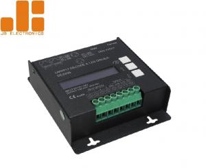 China Constant Voltage DMX512 LED Dimmer Controller With PWM Signal Max 10A*4CH on sale