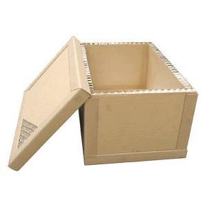 China Heavy Duty Honeycomb Paper Craft Box / Heavy Duty Kraft Paper Box For Machine Or Other Heavy Products Transportion on sale