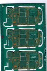 China 2.0mm Green Immersion Gold HAL Pb Free FR4 Rigid Single Sided PCB Board on sale