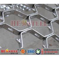310S hex steel grid with standard 960x2000mm size | each 50pcs packaged in a pallet