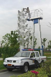 China 200Kg And 9m Dual Mast Aerial Work Platform Type Truck-Mounted And Aluminum on sale