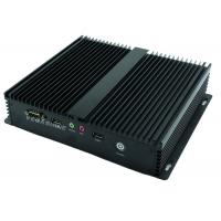China Onboard ATOM D2550 CPU fanless Industrial Embedded Computer With Wifi / 3g Mini Box Pc on sale