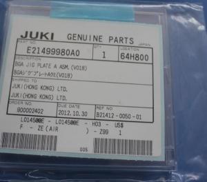 China JUKI NGA JIP PLATE A ASM E21499980A0 on sale