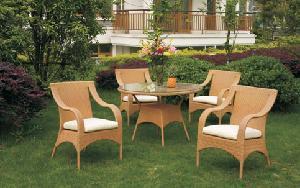 China Outdoor Furniture/Rattan Set (B001) on sale