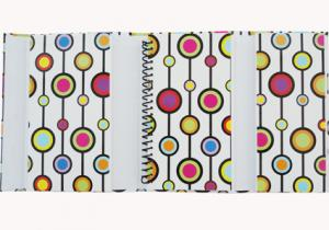 China OEM Customized soft cover Spiral Bound Notepad with 70g * 50p inner page on sale