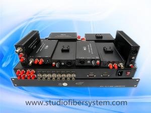 China 4 port fast light compact SDI video over fiber optic system on sale