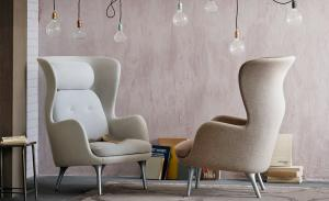 China Replica Room Furniture Fiberglass Lounge Chair Ro Lounge Chair By Fritz Hansen on sale