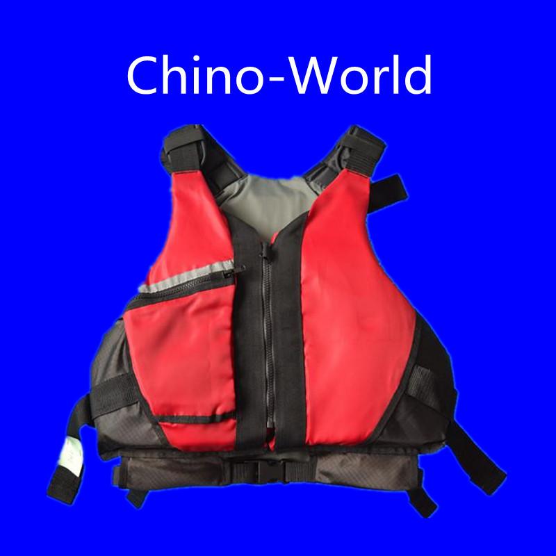 kayak life vest with YKK zipper