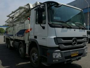 China Best sale!! Zoomlion  used concrete pump truck 52m 56m, Used Truck-mounted Concrete Pump  52,56m on sale