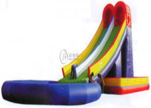 China Children Centers Blow Up Commercial Inflatable Water Slides Outdoor Or Indoor on sale
