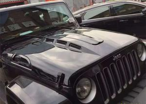 Avenger Style Hood With Functional Vents For 2007 2017 Jeep Wrangler