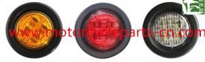 China 2 Inch Led Truck Stop Tail Lights Auto Parts Accessories Round DOT Signal Lamp on sale