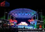 High Loading Silver Aluminum Lighting Truss , Stage Truss System With Tuv  Certification
