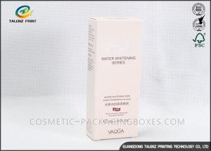 China Pure White Cigarette Packaging Box 0.2mm - 0.5mm Eco Friendly Art Paper Materials on sale