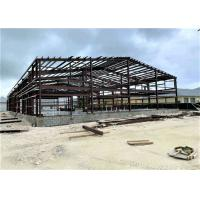 Prefabricated Industrial Metal Factory Building Steel Structure Warehouse