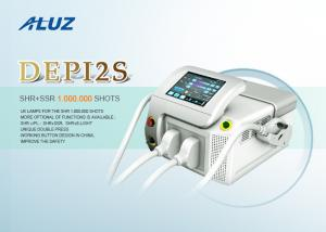 China Comfortable Painless Permanent Hair Removal Machine For Skin Renewing / Skin Tightening1-10Hz  0.5-10Hz on sale
