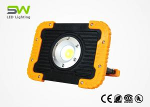 China 10 W Rechargeable Portable LED Flood Lights 1000 Lumen With USB Output on sale