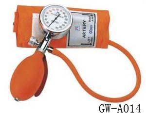 China Hospital use Blood Pressure Monitor Stethoscope handheld aneroid manometer mercury free on sale