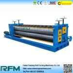 China Corrugated Roofing Color Steel Roll Forming Machine 4kw Motor Power wholesale