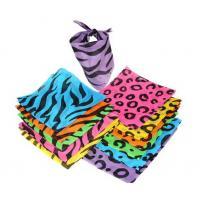 China Neon Animal Print Bandannas on sale