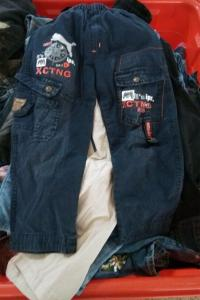 China germany used children clothes used jeans trousers baby clothing on sale