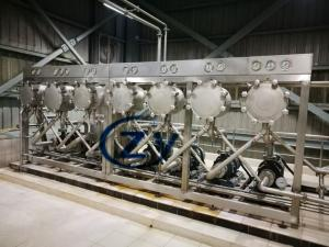 China Hydrocyclone Separator Unit For Potato Cassava Starch Refining Section on sale