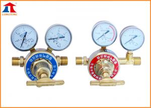 China Brass Oxygen Fuel Single Stage Gas Regulator , Big - flow Gas Distributing System on sale