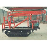 Portable Water Bore Well Drilling Rig / DTH Drilling Machine For  Soil Sampling