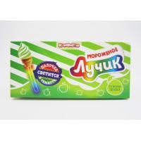 NEW ARRIVAL!!!10 gram Ice cream lollipop with fluorescence stick children candy
