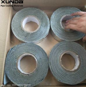China butyl rubber Self adhesive Waterproof Flashing Tape 1.5 mm X 10 cm X10 m on sale