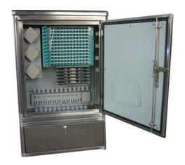Quality IP65 Protective Optical Fiber Cross Connection Cabinet With 192 Cores for sale