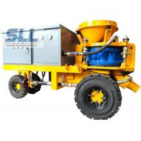 China Less Dust Wet Durable Concrete Spraying Machine High Concrete Strength on sale
